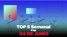 Top Semanal del 29 al 04 de junio 2020 – metromusica – Pop